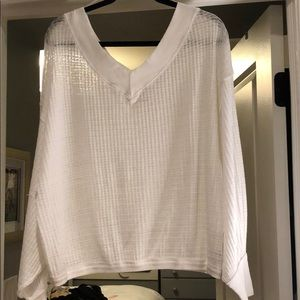 FREE PEOPLE White Off-Shoulder Top